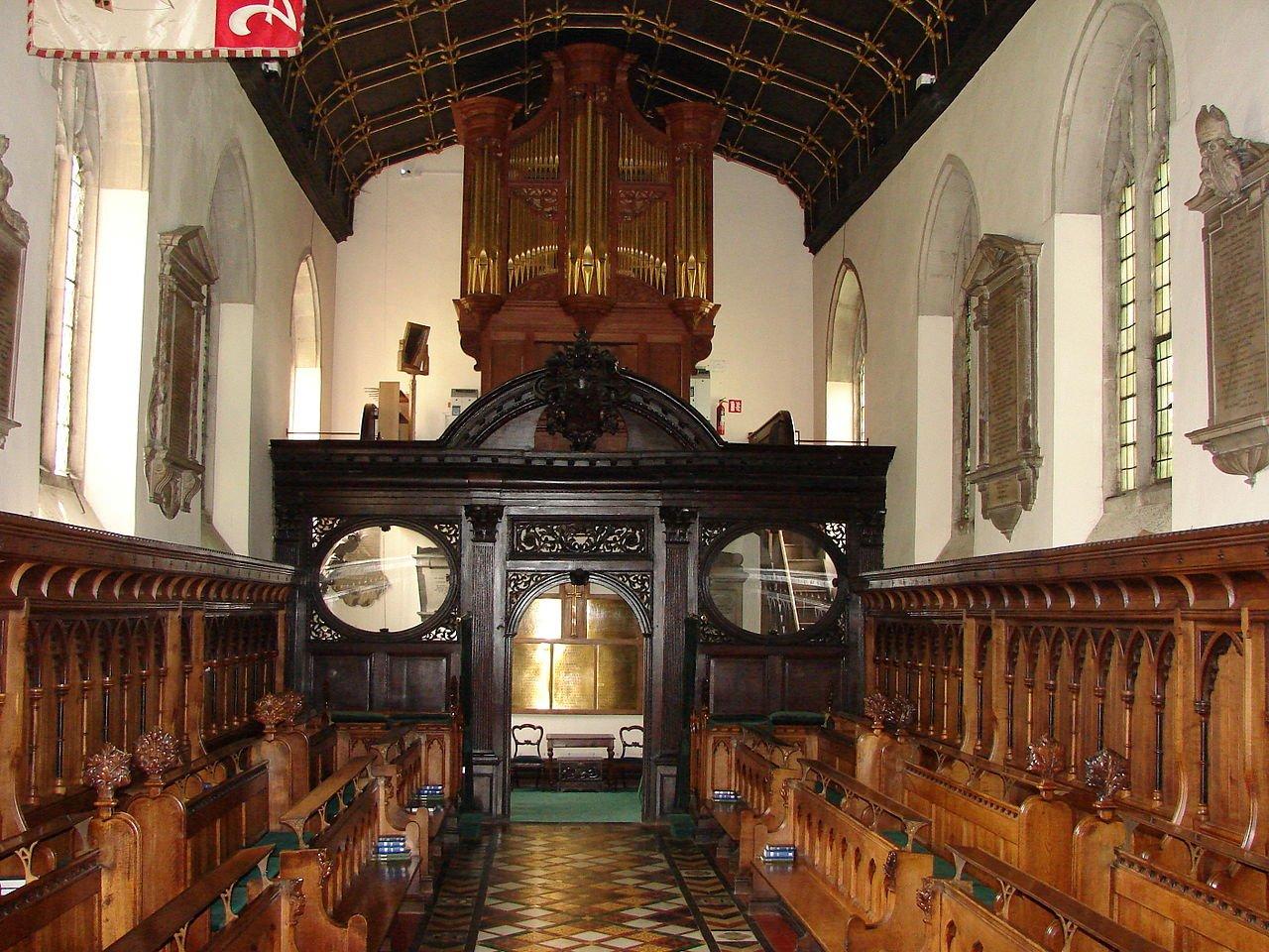 Jesus College chapel