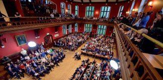 Oxford Union debating chamber