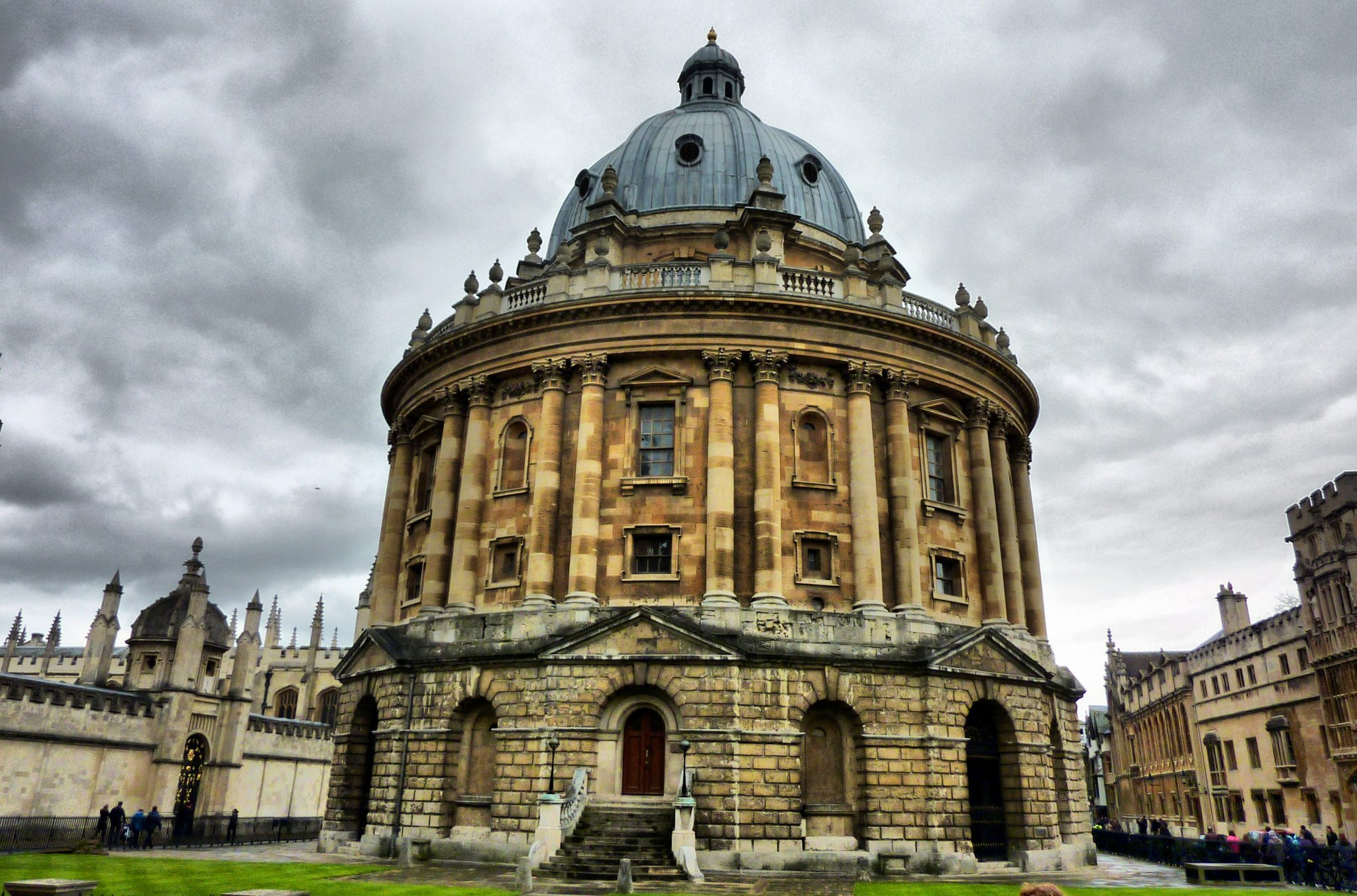 A photo of the Radcliffe Camera.