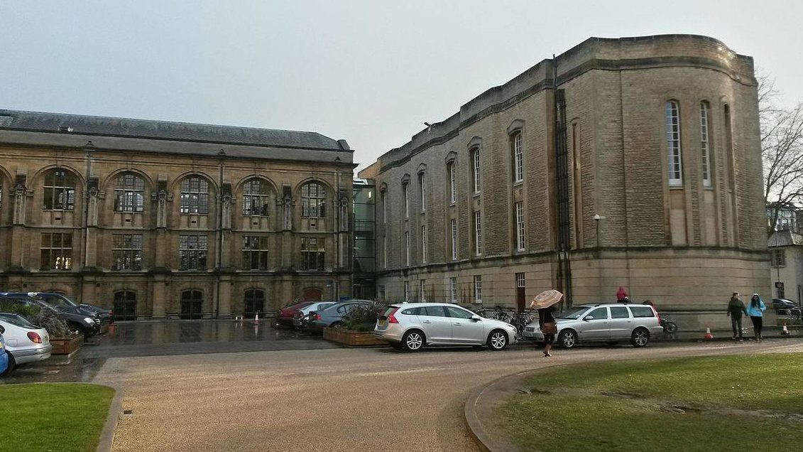 The site of the Radcliffe Science Library where the new postgraduate college will be located