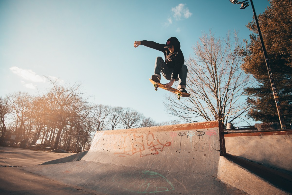 Skateboard picture